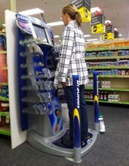 cvs dr scholls foot machine locations